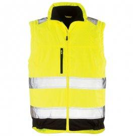 HI-WAY reflexný kabát 2v1 žltý  7HWXY vesta