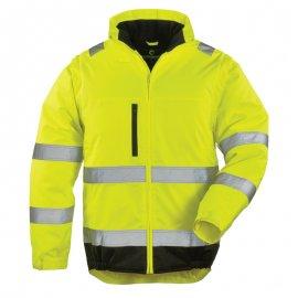 HI-WAY reflexný kabát 2v1 žltý  7HWXY