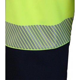 STATION FLUO Softshell® bunda žltá  7STAY reflexný pás detail