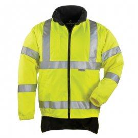 HI-WAY reflexný kabát 4v1 žlto/modrý  70548-555  mikina/vesta