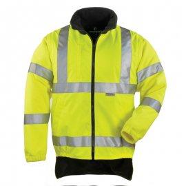 HI-WAY reflexný kabát 4v1 žlto/zelený  70570-574 mikina/vesta