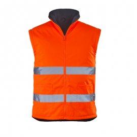 RODWAY reflexný kabát 4v1 oranžovo/modrý  7ROPO vesta