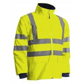 KANATA reflexný kabýt 4v1  žlto/modrý  7KANY bunda