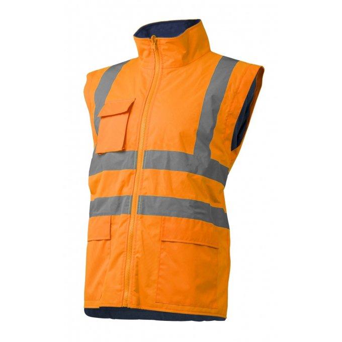 KANATA reflexný kabát 4v1 oranžovo/modrý  7KANO