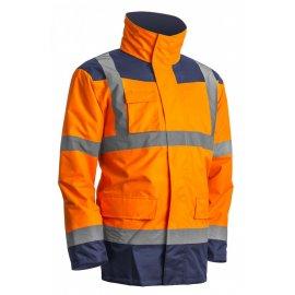 KATANA reflexný kabát 4v1 oranžovo/modrý  7KANO