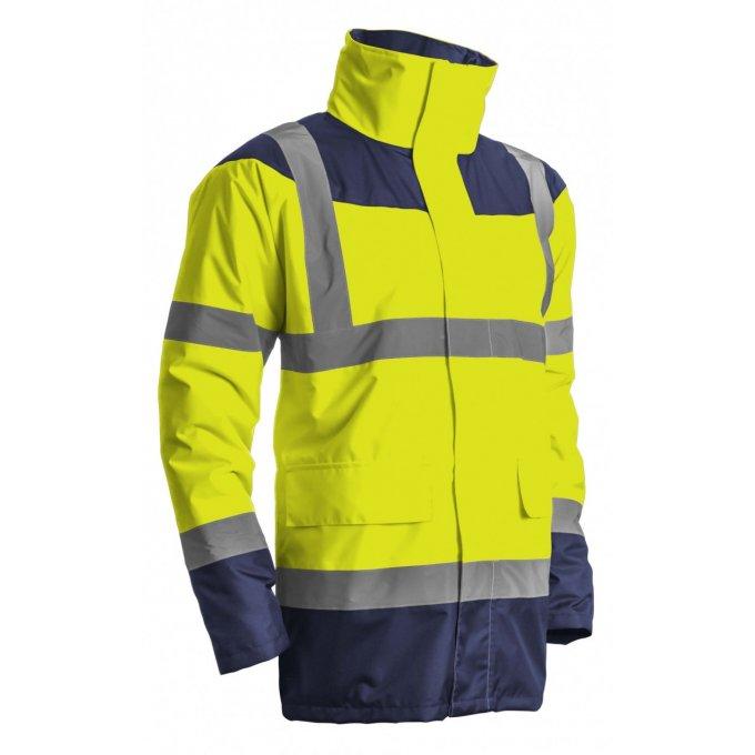 KETA reflexný kabát žlto/modrý  7KETY