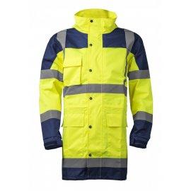 HI-WAY reflexná nepremokavá súprava žltá  7HYDY kabát