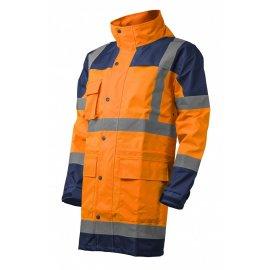 HI-WAY reflexná nepremokavá súprava oranžová  7HYDO kabát