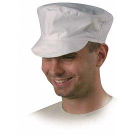 Čiapka biela textilná  45630