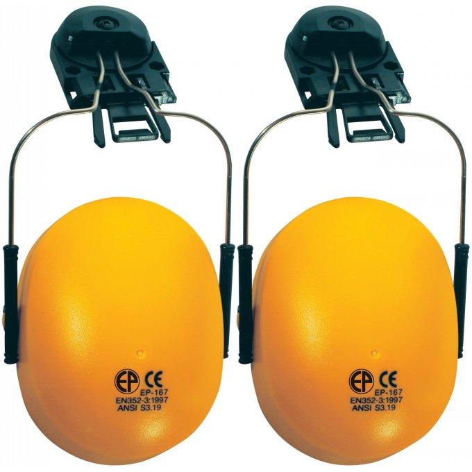 Mušľový chránič sluchu na prilbu 60750