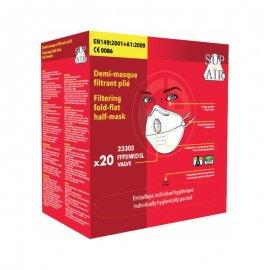 Respirátor Sup Air® 23305 FFP3 NR D balenie