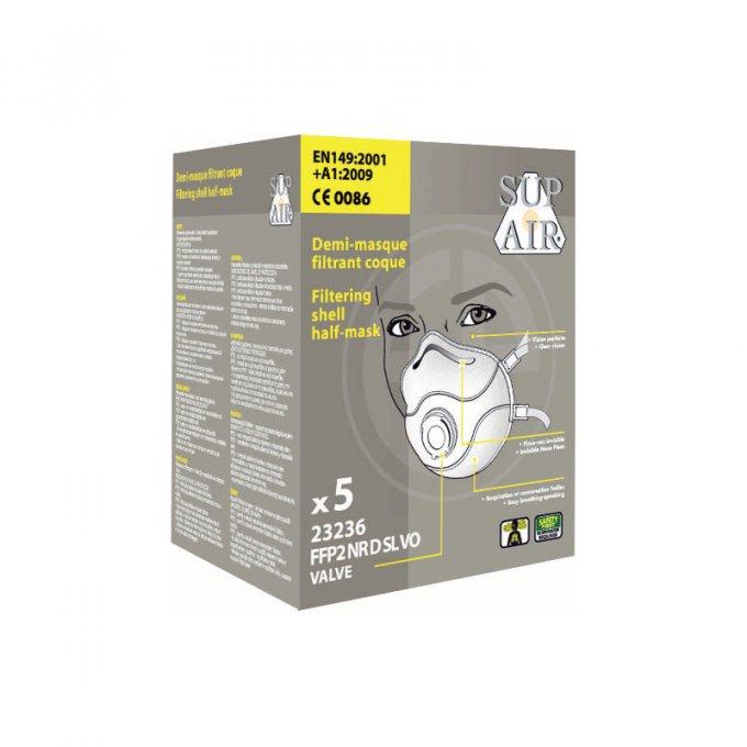 Respirátor Sup Air® 23236 FFP2 D VO aktívne uhlie