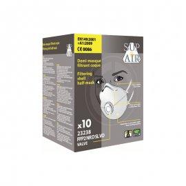 Respirátor Sup Air 23238 FFP2 D VO aktívne uhlie balenie