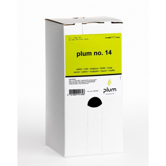 Plum No 14 krémové mydlo 1,4 l bag in box  PL1413