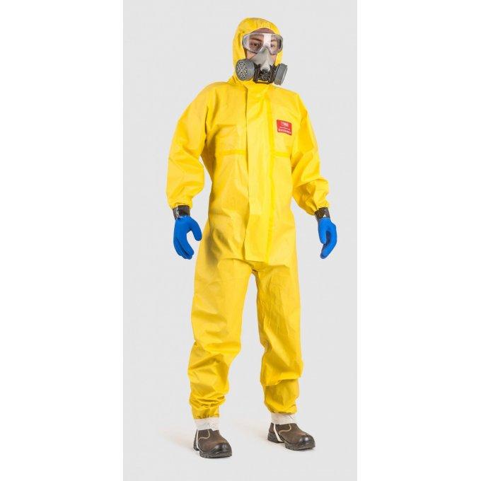CoverChem 3X60 žltý overal  44801-806