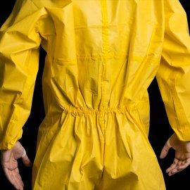 CoverChem 3X60 žltý overal  44801-806 elastický pás