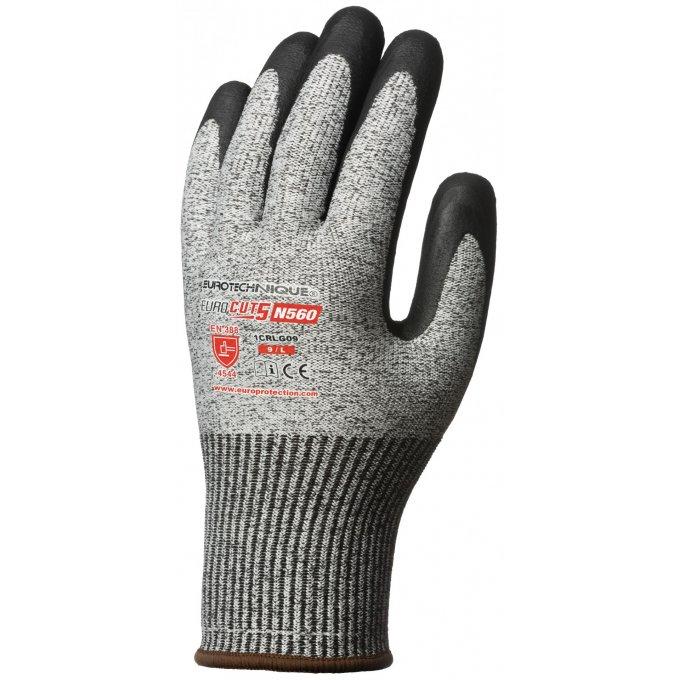1CRLG rukavice  EUROCUT 5 N560