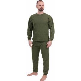 Funkčné tričko dlhý rukáv zelené  576630-636