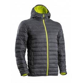 KUMA sivo/žltá prešívana bunda  5KJGY