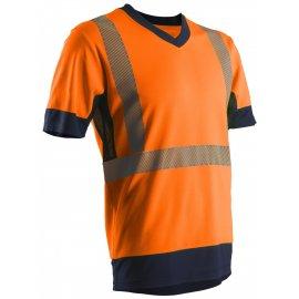 KOMA reflexné tričko oranžové  7KOMO