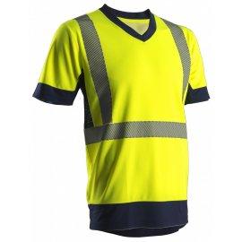 KYRIO reflexné tričko žlté  7KYRY