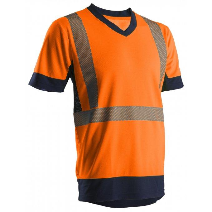 KYRIO reflexné tričko oranžové 7KYRO