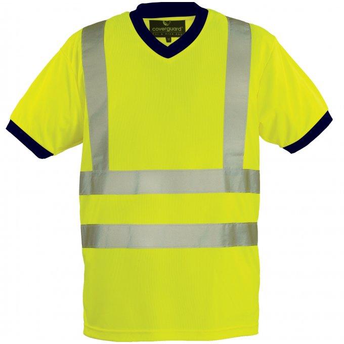 YARD reflexné tričko žlté   7YAVY