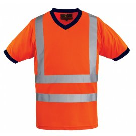 YARD reflexné tričko oranžové  7YAVO