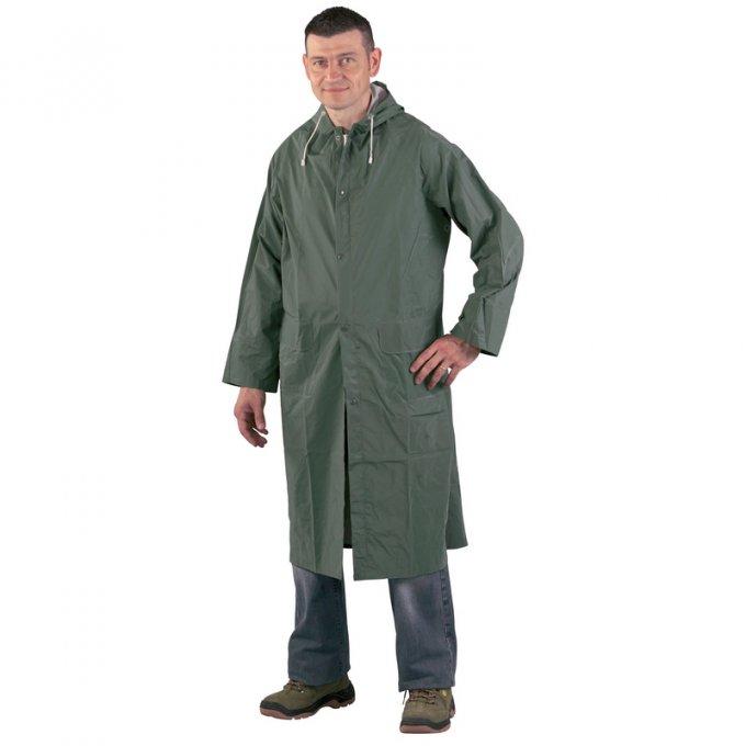 Nepremokavý PVC pášť zelený 50300-304