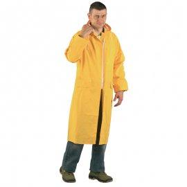 Nepremokavý PVC plásť žltý  50310-314