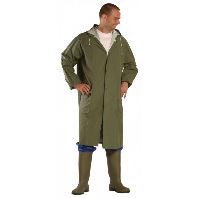 RAINBO nepremokavý plášť zelený  5RAING