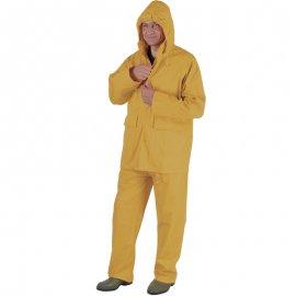Nepremokavý PU oblek žltý  50810-814