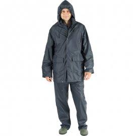 Nepremokavý PU/PVC oblek modrý  50920-923