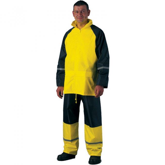 Fluo žltá nepremokavá súprava  50710-714