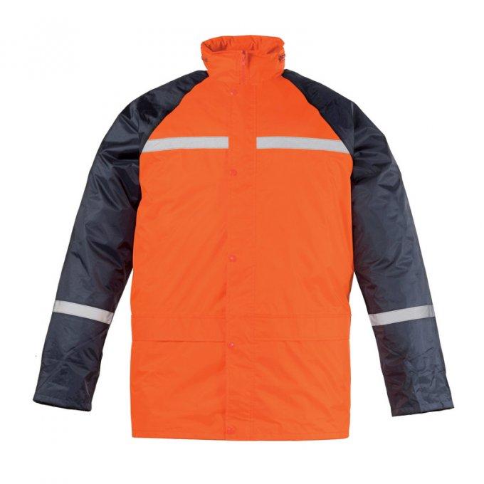 Fluo oranžová nepremokavá súprava 50730-734