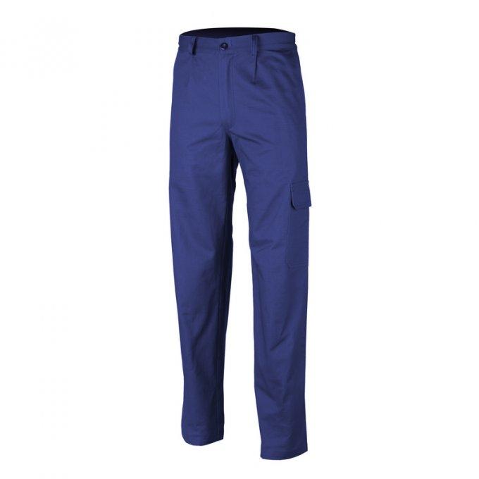 PARTNER nohavice pás modré  8PATA