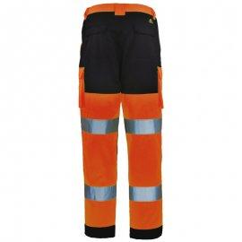PATROL reflexné pás nohavice oranžovo/modré  7PAOP