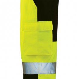 PATROL reflexné pás nohavice žlto/modré  7PAJP