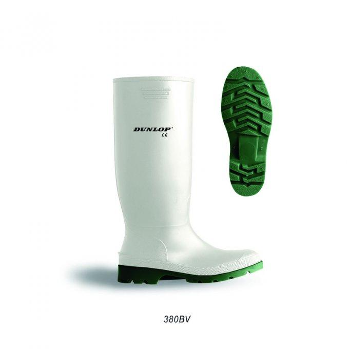 DUNLOP® Pricemastor biele čižmy  D956 35-48