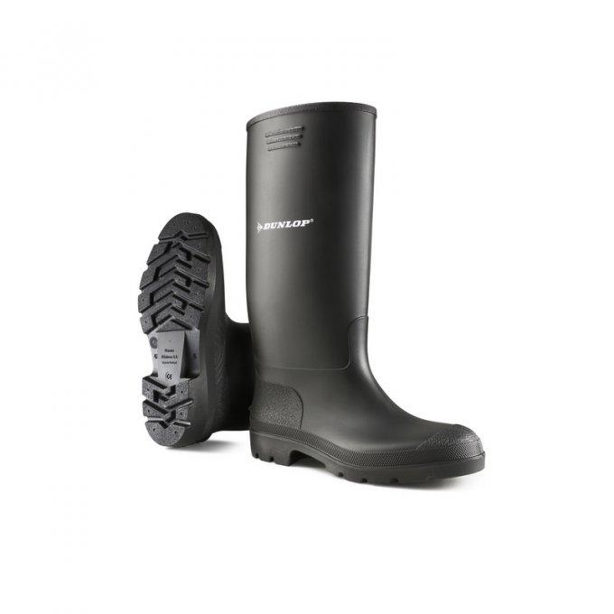 DUNLOP® Pricemastor čierne čižmy  D955 35-48