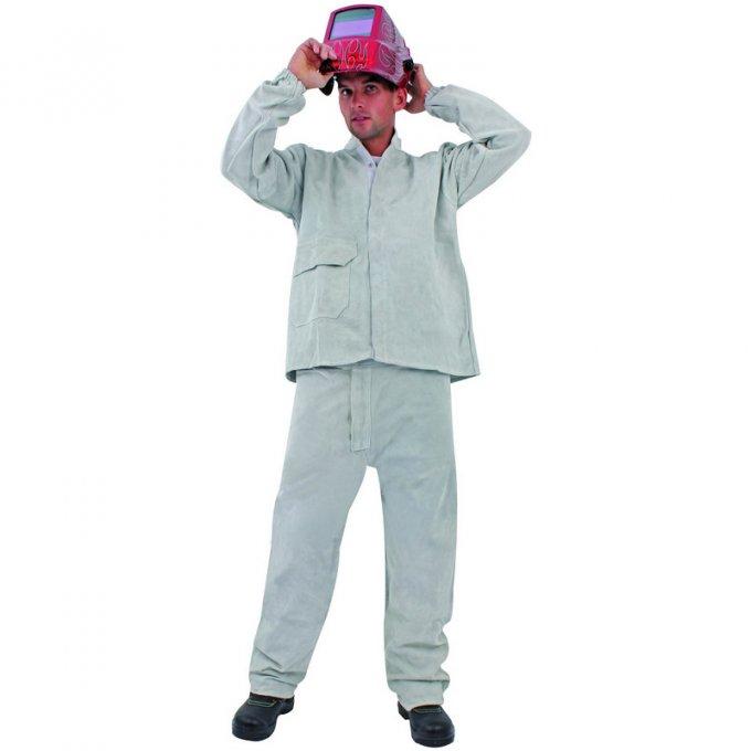 Zváracie nohavice kožené  57464-67