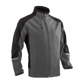 TORI sofshell bunda, sivo/čierná  5TOR00