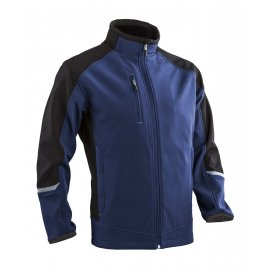 TORI sofshell bunda, modro/čierna  5TOR10