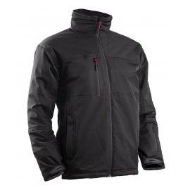 YANG WINTER 2 čierny softshel kabát  5YAW00
