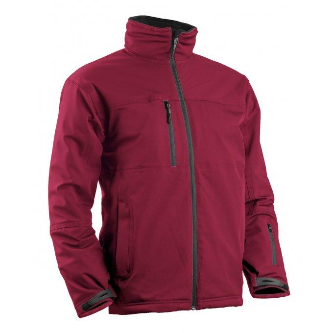 YANG WINTER 2 červený softshel kabát  5YAW10