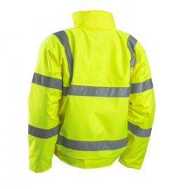 5SOU160 žltá reflexná bunda