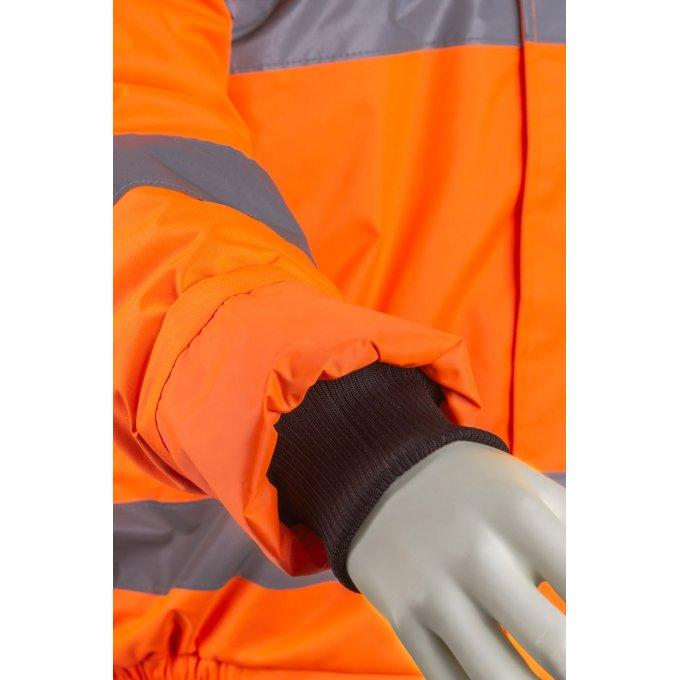 5SOU170 oranžová reflexná bunda
