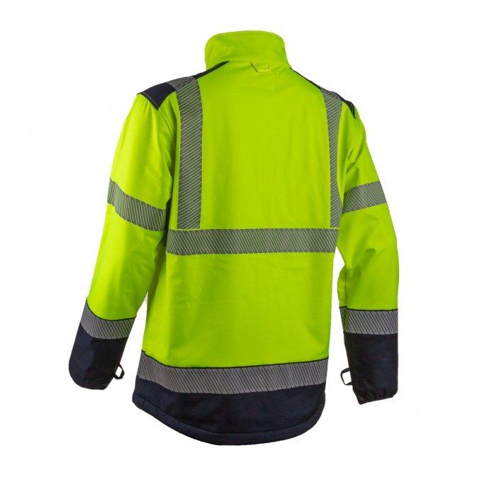 KAZAN softshell reflexná bunda  5KAS160