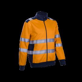 GOKKAN oranžový fluorescenčný sveter  5KOG17