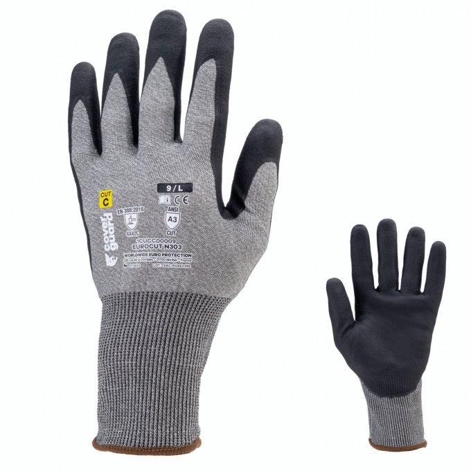 EUROCUT N303 protiporézne rukavice  1CUCC00